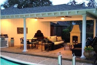 custom patio cover houston
