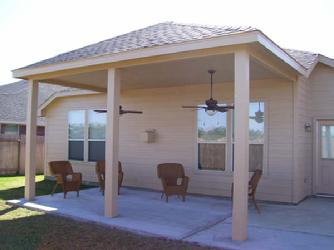 covered patio Tomball