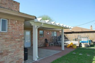 metal patio cover builder