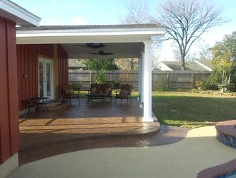 Stamped Concrete Houston