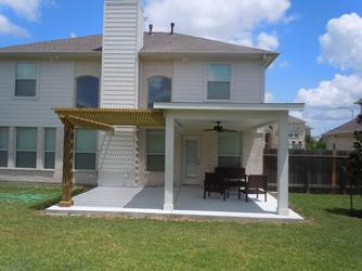 arbors or pergolas in Houston