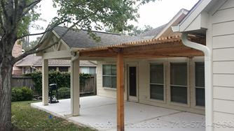 Shade Arbor Pergola with Patio Cover, Kingwood