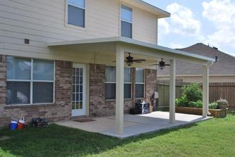 metal patio cover builder in houston