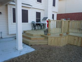 Baytown Patio Cover and Deck