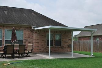 aluminium patio cover company in houston