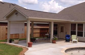 Patio cover builder contractor in Houston