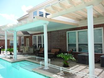 Metal Patio Cover, Metal Arbor, Pearland