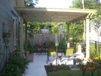 League City Shade Arbor and Pergola
