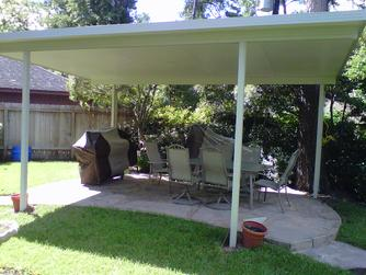 Metal Patio Cover, Pearland