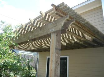 patio shade arbor