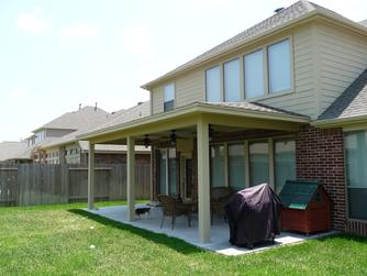 Kingwood shade cover for patio