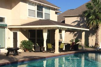 Cabana patio cover Kingwood