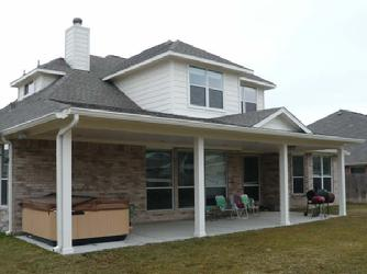 hip roof patio cover