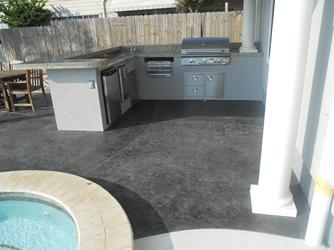 Stained Concrete Friendswood