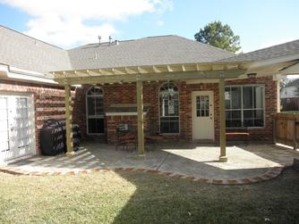 wood shade arbor houston