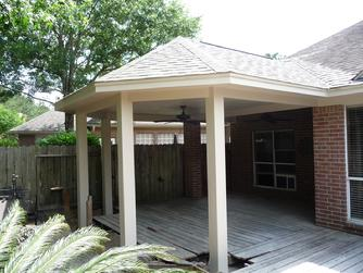 Porter Covered Patio for Shade