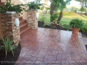 Decorative Stamped Concrete Picture