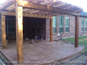 Stamped Concrete by Affordable Shade