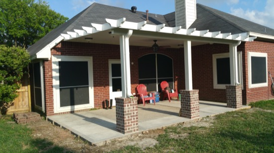 Elegant Aluminum Patio Cover