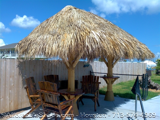 how to build a palapa