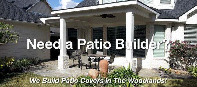 We Build Patio Covers
