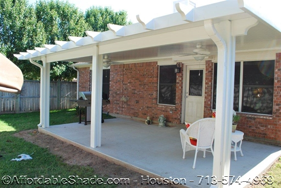 Thompson & Custom Aluminum Patio Covers Houston u2013 Metal Patio Cover Installer
