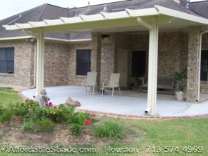 Custom Aluminum Patio Covers Houston Metal Patio Cover