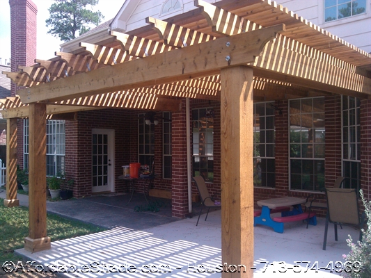 Wood Arbors Gallery 1 – Affordable Shade Patio Covers