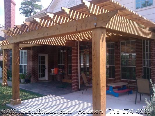 Abraham - Wood Arbor & Pergola Ideas For Houston Homes Free Design Consultation