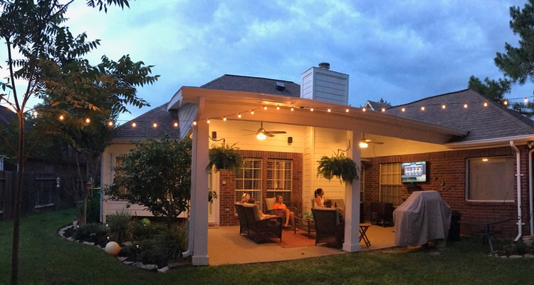 We Build Custom Patio Covers In Houston, TX And The Surrounding Area. If  Your Backyard Needs Some Shade, Connect With Usu2026 Weu0027d Love To Make You A  Fair, ...